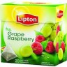 Чай черный Lipton GRAPE RASPBERRY 20*1,8г