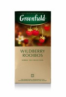 Чай травяной Greenfield Wildberry Rooibos 25*1,5г
