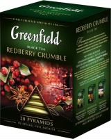 Чай черный Greenfield Redberry Crumble  20*2г