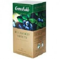 Чай черный Greenfield Blueberry Nights 25*1,5г