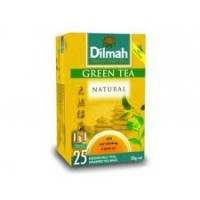 Чай зеленый DILMAH Natural Green Tea 25*2г