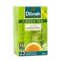 Чай зеленый DILMAH Green Tea with Jasmine Petals 25*2г