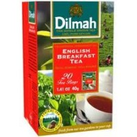 Чай черный DILMAH Exclusive English Breakfast 25*2г