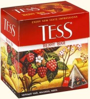 Чай черный TESS Berry Bar 20*1,8г