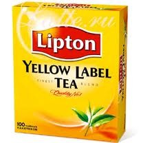 Чай черный Lipton Yellow Label 100*2г