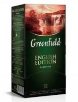 Чай черный Greenfield English Edition 25*2г