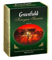 Чай черный Greenfield Kenyan Sunrise 100*2г