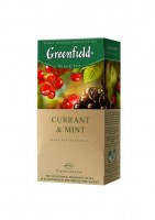 Чай черный Greenfield Currant & Mint 25*1,5г