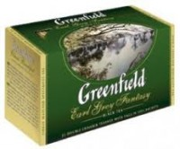 Чай черный Greenfield Earl Grey Fantasy 25*2г
