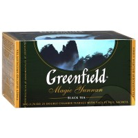 Чай черный Greenfield Magic Yunnan 25*2г