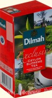 Чай черный DILMAH Exclusive Ceylon Supreme 25*2г